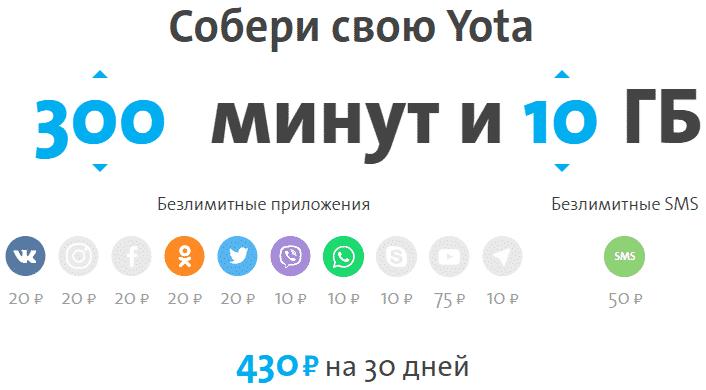 Как активировать сим карту yota на телефоне, модеме, планшете без приложения